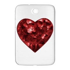 Floral Heart Shape Ornament Samsung Galaxy Note 8.0 N5100 Hardshell Case