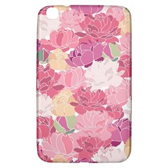 Peonies Flower Floral Roes Pink Flowering Samsung Galaxy Tab 3 (8 ) T3100 Hardshell Case