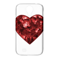 Floral Heart Shape Ornament Samsung Galaxy S4 Classic Hardshell Case (PC+Silicone)