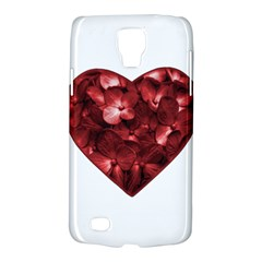 Floral Heart Shape Ornament Galaxy S4 Active