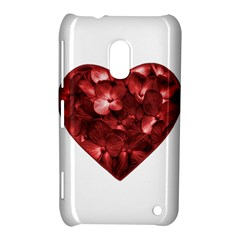 Floral Heart Shape Ornament Nokia Lumia 620