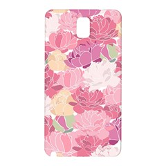 Peonies Flower Floral Roes Pink Flowering Samsung Galaxy Note 3 N9005 Hardshell Back Case