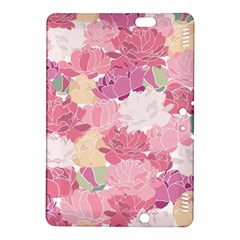Peonies Flower Floral Roes Pink Flowering Kindle Fire HDX 8.9  Hardshell Case