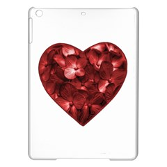 Floral Heart Shape Ornament iPad Air Hardshell Cases
