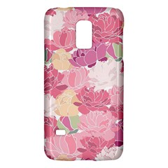 Peonies Flower Floral Roes Pink Flowering Galaxy S5 Mini