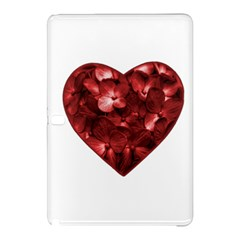 Floral Heart Shape Ornament Samsung Galaxy Tab Pro 12.2 Hardshell Case