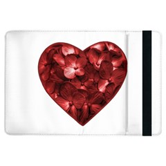Floral Heart Shape Ornament iPad Air Flip