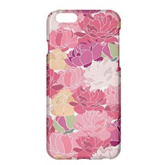 Peonies Flower Floral Roes Pink Flowering Apple iPhone 6 Plus/6S Plus Hardshell Case