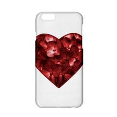 Floral Heart Shape Ornament Apple iPhone 6/6S Hardshell Case