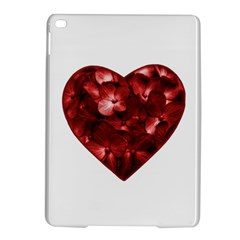 Floral Heart Shape Ornament iPad Air 2 Hardshell Cases