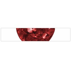 Floral Heart Shape Ornament Flano Scarf (Large)