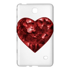Floral Heart Shape Ornament Samsung Galaxy Tab 4 (8 ) Hardshell Case