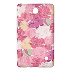 Peonies Flower Floral Roes Pink Flowering Samsung Galaxy Tab 4 (7 ) Hardshell Case