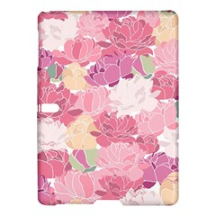 Peonies Flower Floral Roes Pink Flowering Samsung Galaxy Tab S (10.5 ) Hardshell Case