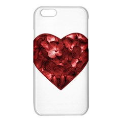 Floral Heart Shape Ornament iPhone 6/6S TPU Case