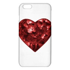 Floral Heart Shape Ornament iPhone 6 Plus/6S Plus TPU Case