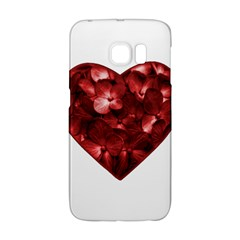 Floral Heart Shape Ornament Galaxy S6 Edge
