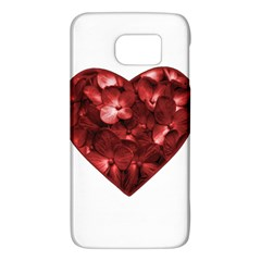 Floral Heart Shape Ornament Galaxy S6