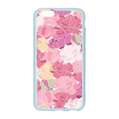 Peonies Flower Floral Roes Pink Flowering Apple Seamless iPhone 6/6S Case (Color)