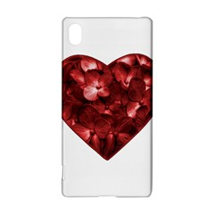 Floral Heart Shape Ornament Sony Xperia Z3+