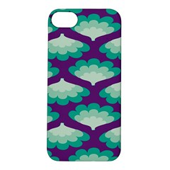 Purple Flower Fan Apple iPhone 5S/ SE Hardshell Case
