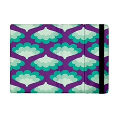 Purple Flower Fan iPad Mini 2 Flip Cases