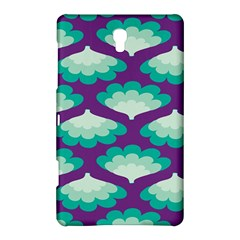 Purple Flower Fan Samsung Galaxy Tab S (8.4 ) Hardshell Case