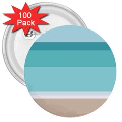 Rainbow Flag 3  Buttons (100 pack)