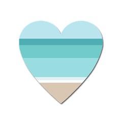Rainbow Flag Heart Magnet