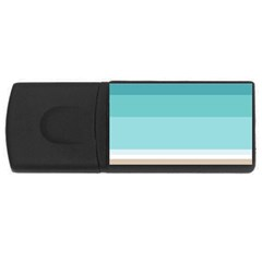 Rainbow Flag USB Flash Drive Rectangular (1 GB)