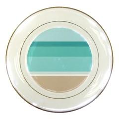 Rainbow Flag Porcelain Plates