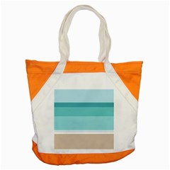 Rainbow Flag Accent Tote Bag
