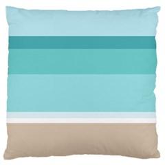 Rainbow Flag Large Cushion Case (One Side)