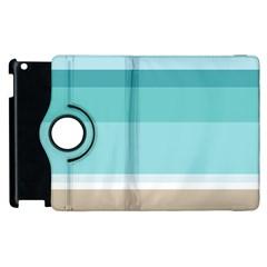 Rainbow Flag Apple iPad 3/4 Flip 360 Case