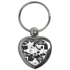 Point Line Plane Themed Original Design Key Chains (Heart)