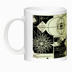 Point Line Plane Themed Original Design Night Luminous Mugs