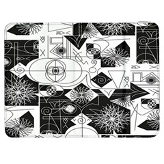 Point Line Plane Themed Original Design Samsung Galaxy Tab 7  P1000 Flip Case