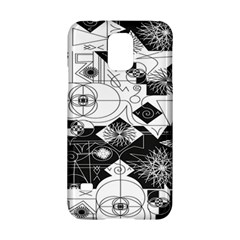 Point Line Plane Themed Original Design Samsung Galaxy S5 Hardshell Case