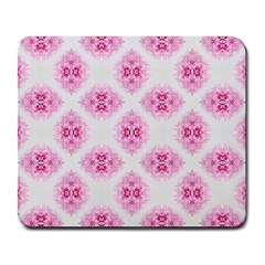 Peony Photo Repeat Floral Flower Rose Pink Large Mousepads
