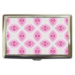 Peony Photo Repeat Floral Flower Rose Pink Cigarette Money Cases