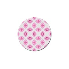 Peony Photo Repeat Floral Flower Rose Pink Golf Ball Marker (10 pack)
