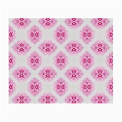 Peony Photo Repeat Floral Flower Rose Pink Small Glasses Cloth (2-Side)