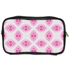 Peony Photo Repeat Floral Flower Rose Pink Toiletries Bags 2-Side