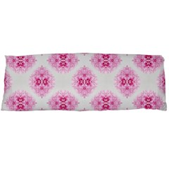 Peony Photo Repeat Floral Flower Rose Pink Body Pillow Case Dakimakura (Two Sides)