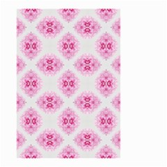 Peony Photo Repeat Floral Flower Rose Pink Small Garden Flag (Two Sides)