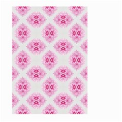 Peony Photo Repeat Floral Flower Rose Pink Large Garden Flag (Two Sides)