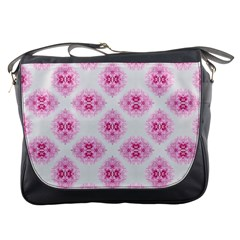 Peony Photo Repeat Floral Flower Rose Pink Messenger Bags
