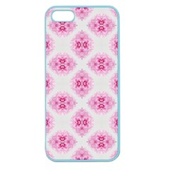 Peony Photo Repeat Floral Flower Rose Pink Apple Seamless iPhone 5 Case (Color)