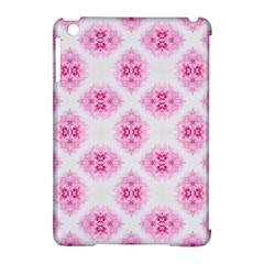Peony Photo Repeat Floral Flower Rose Pink Apple iPad Mini Hardshell Case (Compatible with Smart Cover)