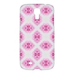 Peony Photo Repeat Floral Flower Rose Pink Samsung Galaxy S4 I9500/I9505 Hardshell Case